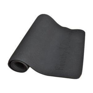 Black Yoga Mat
